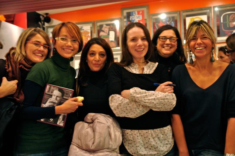 Chiara,Theodora,Patricia,Sigrid,Barbara,Carola