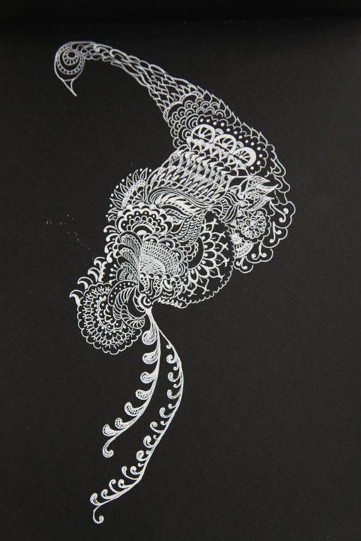 Disegno Nero Su Bianco.Bianco Su Nero La Casetta Delle Pesche